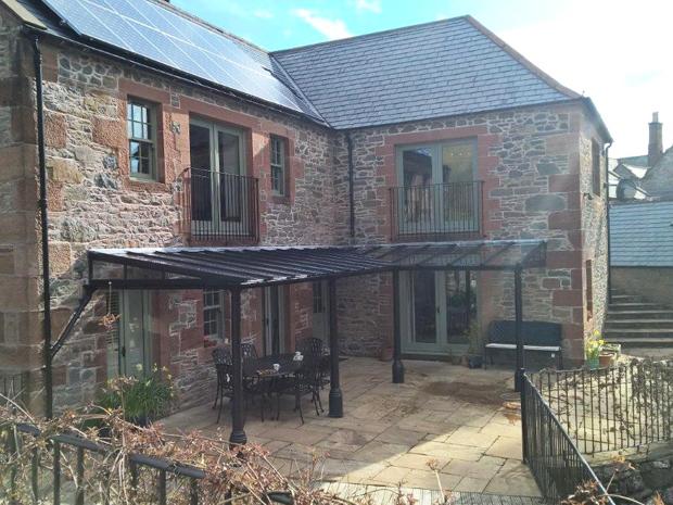 quality traditional glass verandas