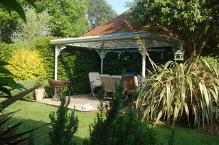 <p>Mr B was so pleased with his gazebo that he sent us pictures to add to our website!</p>