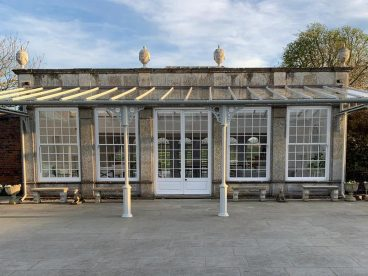 <p>A wedding venue in Lancashire now offers a covered area for guests which allows them to enjoy the stunning views</p>